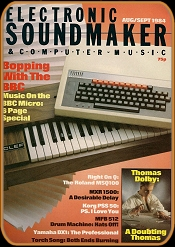 Electronic Sound Maker August / September 1984