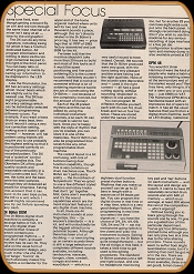 Electronic Sound Maker May 1984