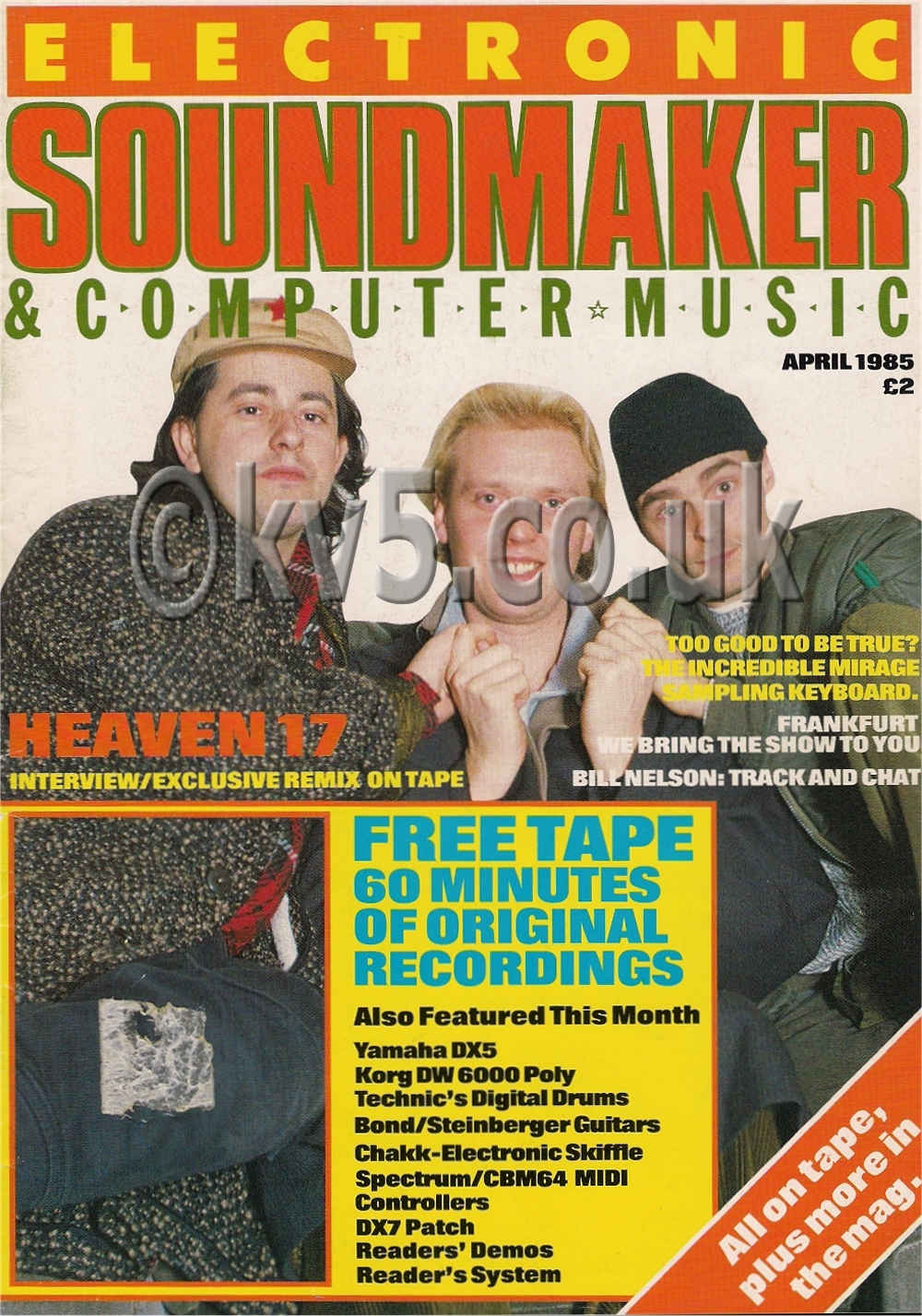 Electronic Soundmaker April 1985