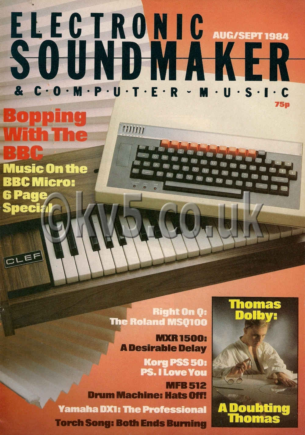 Electronic Soundmaker Aug-Sept 1984