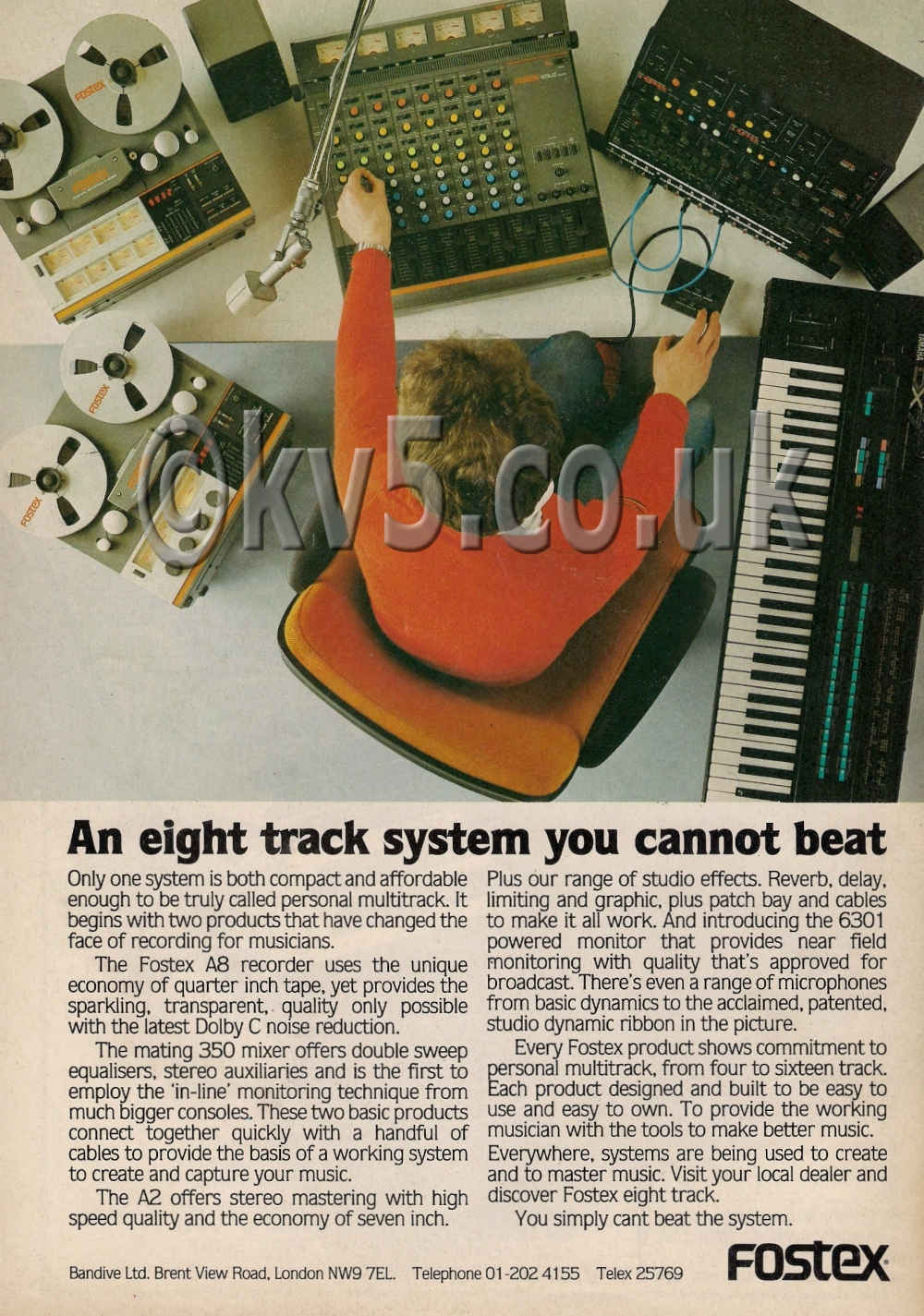 Fostex Advert