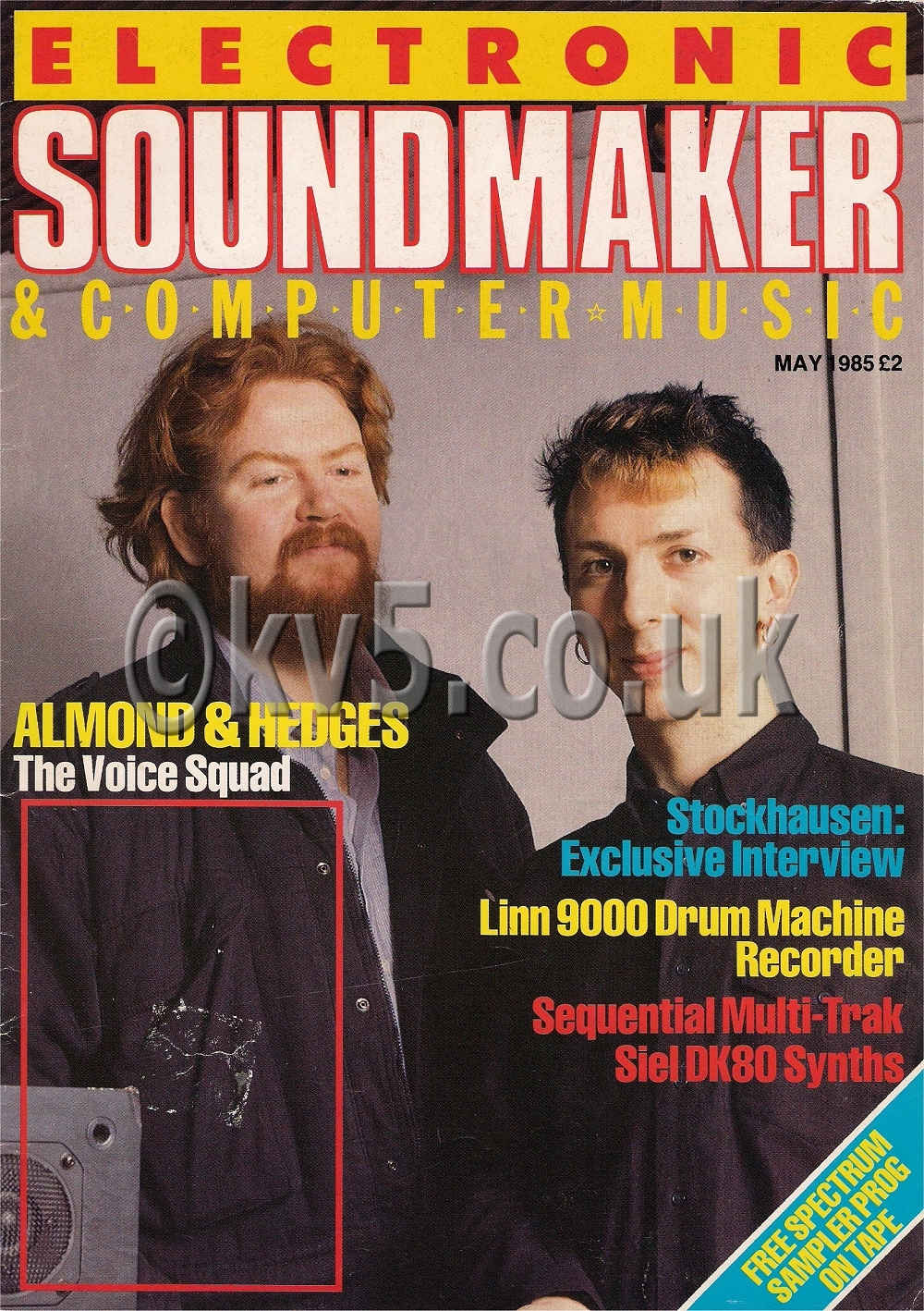 Electronic Sound Maker May 1985