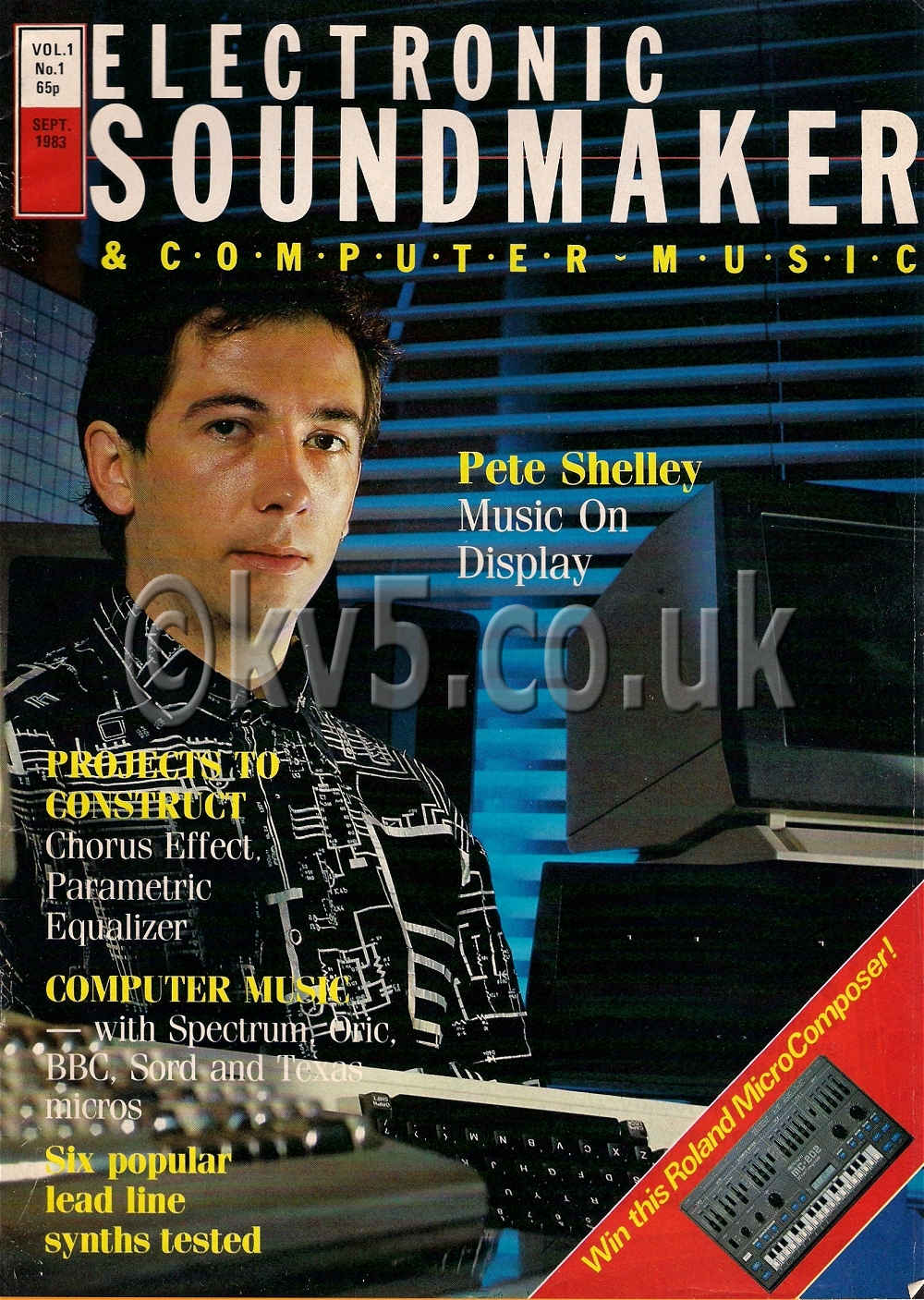 Electronic Soundmaker September 1983